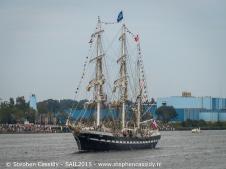 Tall ships in IJmuiden