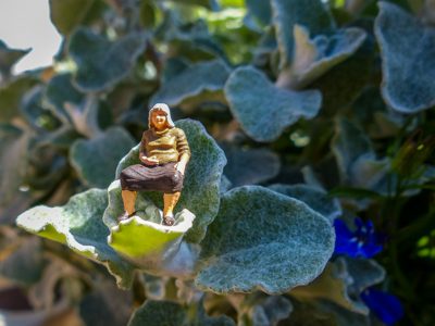 miniature people fat lady